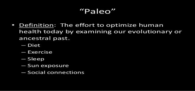 Paleo Defined