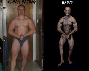 clean eating and IIFYM