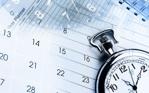 personal trainer schedule